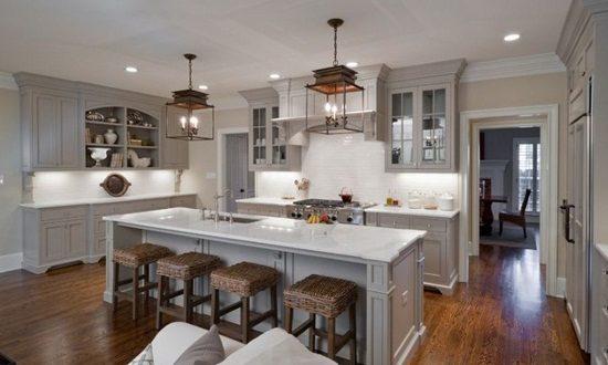 Have An Elegant Inviting Kitchen In Warm Shades Interior